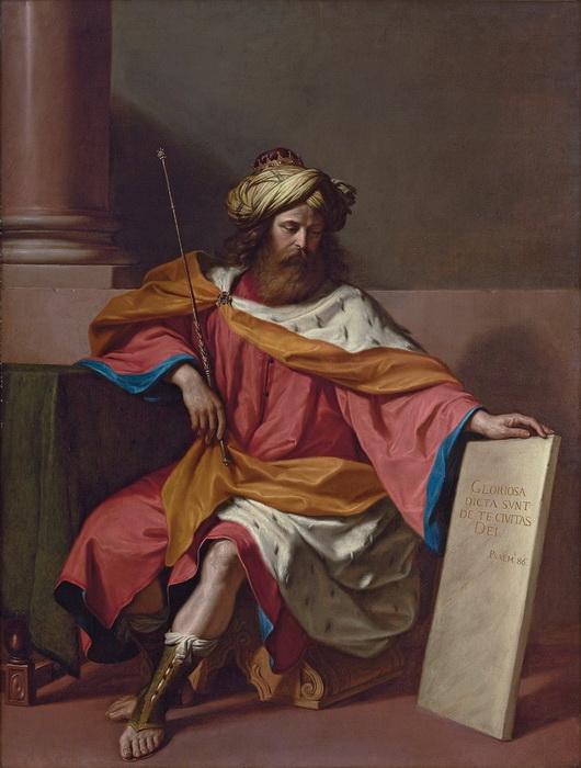 Гверчино. Царь Давид