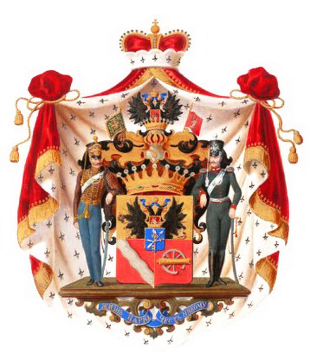 Герб князей Васильчиковых