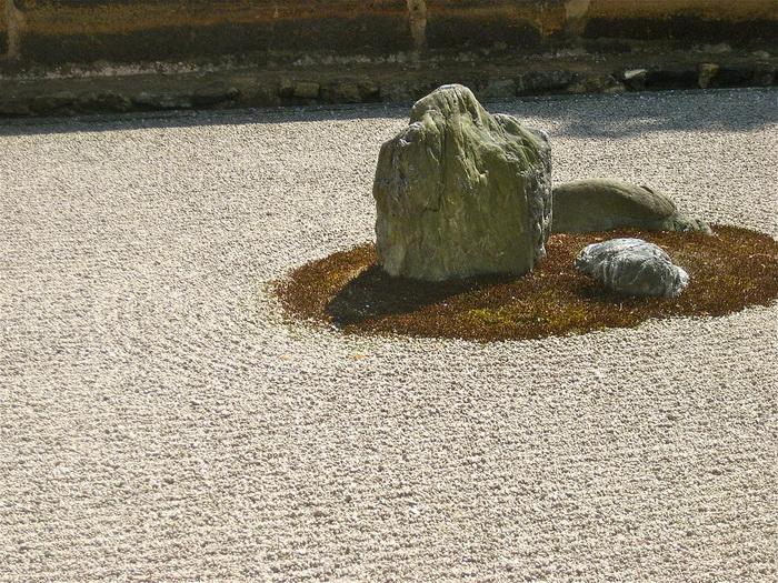 Сад камней - родственное хайку искусство