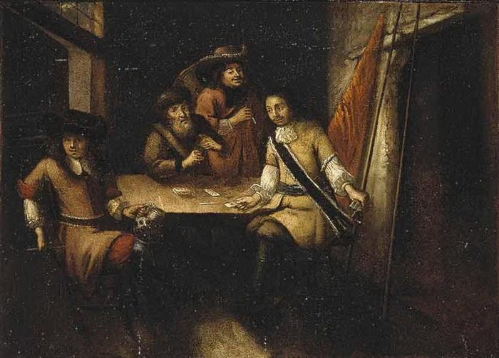«Беседа Петра I в Голландии». Картина неизвестного художника