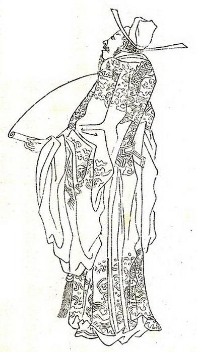 Судья Ди жил в Китае в VII-VIII вв.