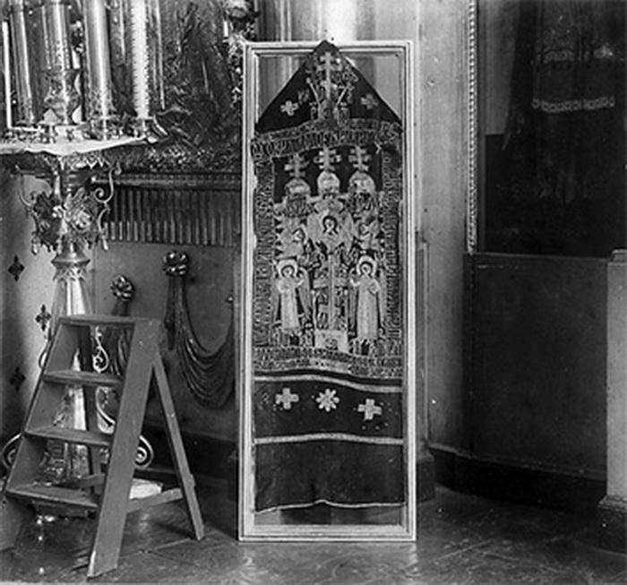 Схима преподобной Анны. Фото 1910 года