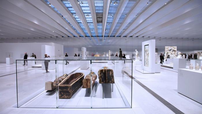Экспозиция музея Лувр-Ланс