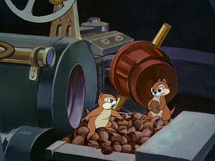 Из мультфильма «Рядовой Плуто»