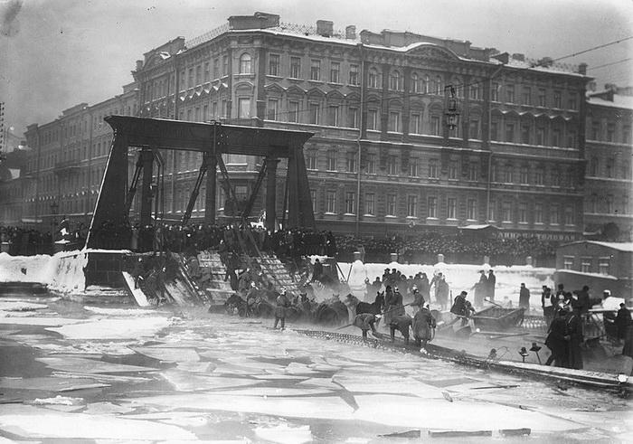 Обрушение Египетского моста в 1905 г.