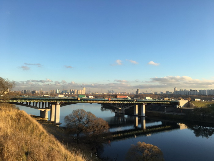 Спасский мост и дублер