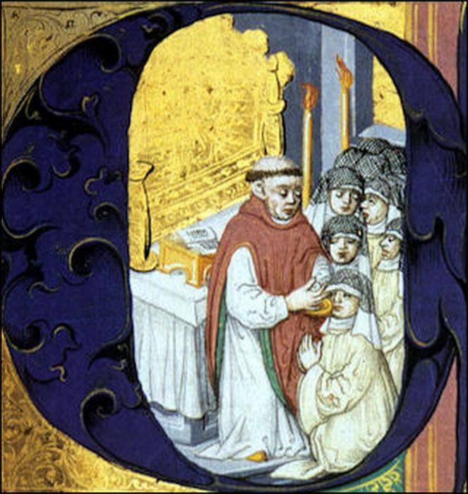 Порой монахини не употребляли другой пищи, кроме как полученной во время причастия