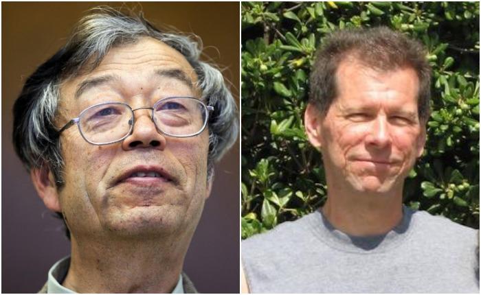 Дориан Сатоши Накамото и Хэл Финни - те, кому приписывалась личность создателя биткойна