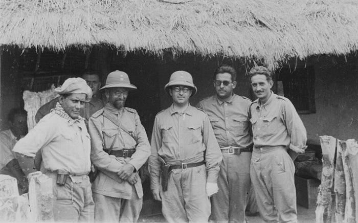 Генерал Беляев - четвертый справа