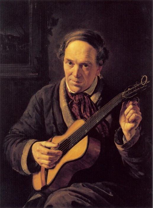 Константин Маковский. Портрет отца художника