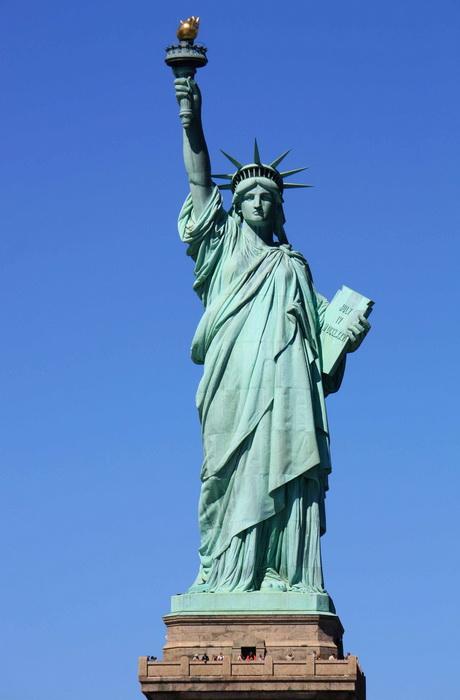 Статуя Свободы - маяк