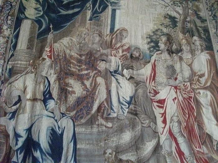 Свадьба Хлодвига. Гобелен XVII века во дворце То в Реймсе