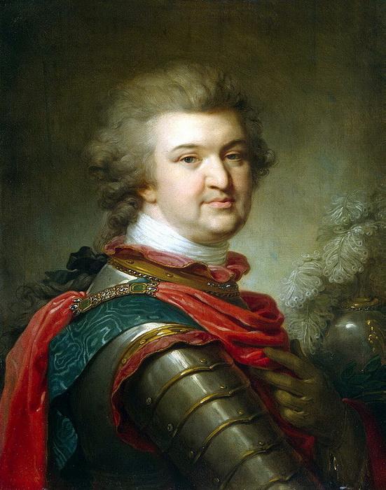 Григорий Александрович Потемкин незадолго до своей смерти в 1791 году