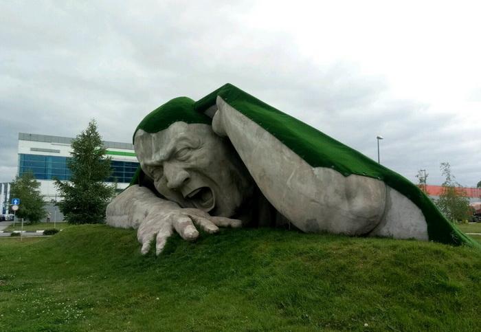 Скульптура, переехавшая в Нижний Новгород