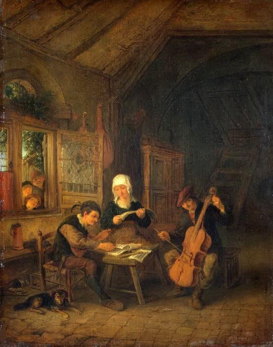«Малые голландцы» - отдельное явление в европейской живописи