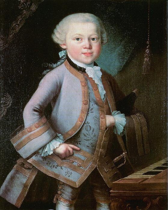 Вольфганг Амадей Моцарт в детстве