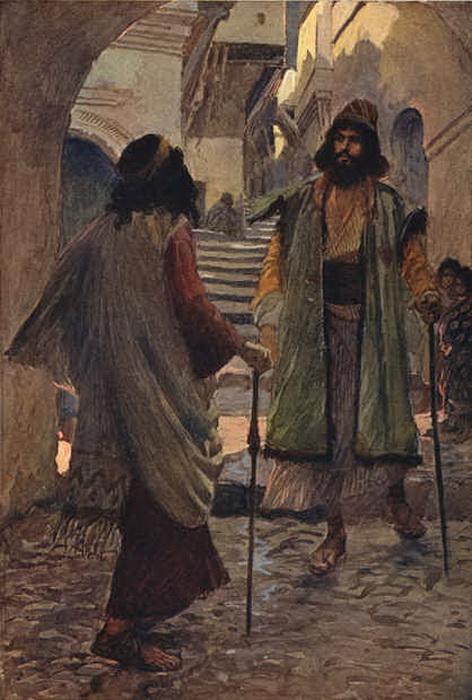 Дж. Тиссо «Самуил встречает Саула»