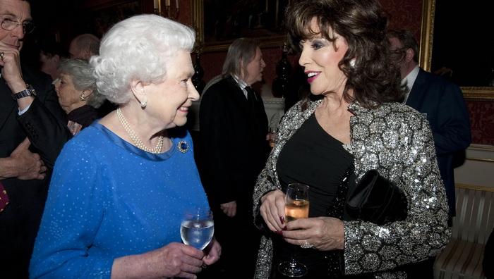 С королевой Великобритании Елизаветой II