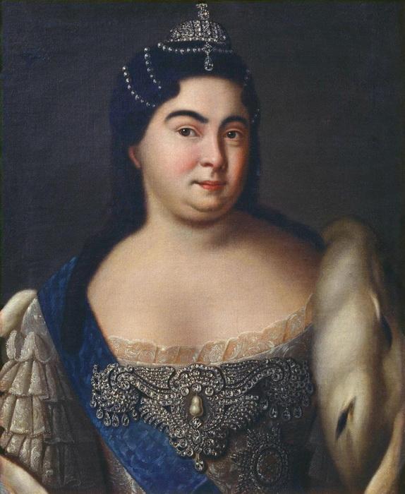 Императрица Екатерина Алексеевна, жена Петра I