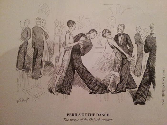 А привычку студентов Оксфорда носить брюки широкого покроя - «оксфордские мешки» - переняли и далекие от студенчества модники
