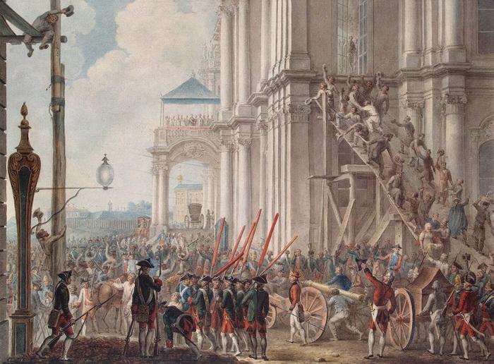 В результате дворцового переворота 28 июня 1762 года Екатерина взошла на российский престол