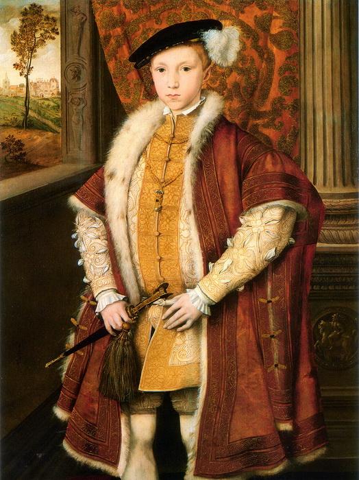 Король Англии Эдуард VI