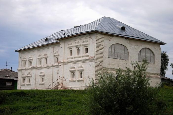 Дом в Холмогорах, где содержалось брауншвейгское семейство