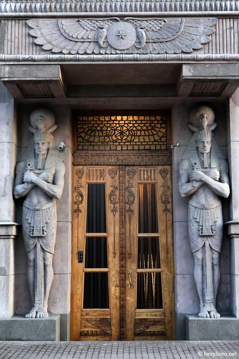 Египетский дом на Захарьевской