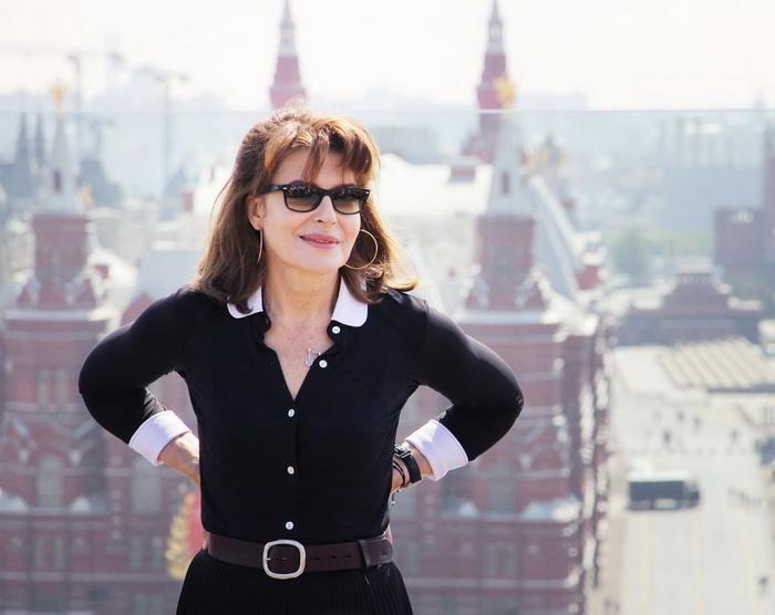 Фанни Ардан в Москве в 2014 году
