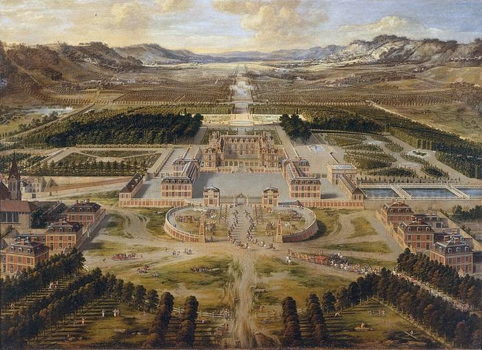 П. Патель. Версальский дворец
