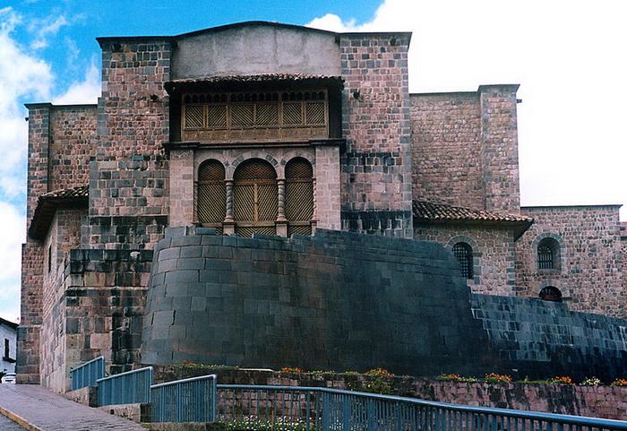 Кориканча - Храм Солнца, разрушенный европейскими колонистами