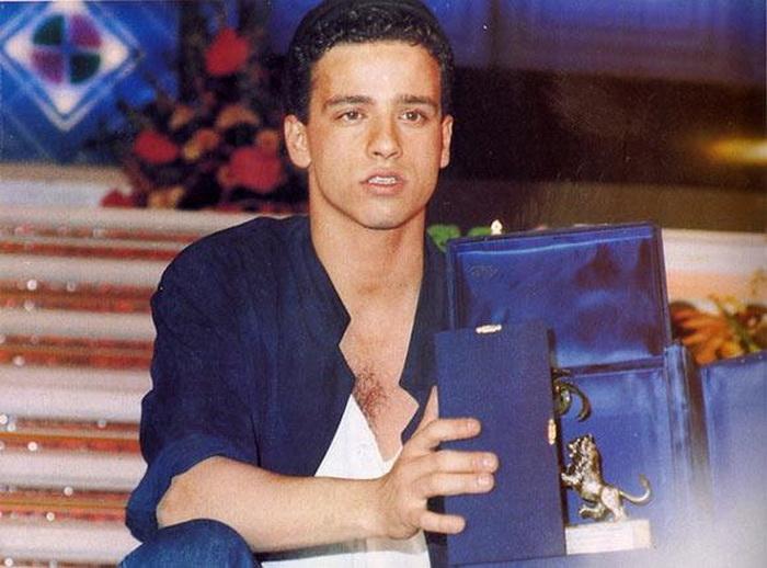 Эрос Рамазотти стал победителем в 1986 году