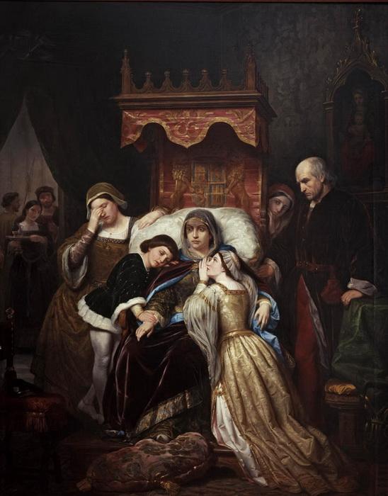 Мать Изабеллы, Изабелла Португальская, страдала от душевной болезни