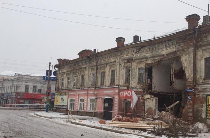 Здание в Арзамасе, где останавливался Лев Толстой, несколько лет назад было разрушено