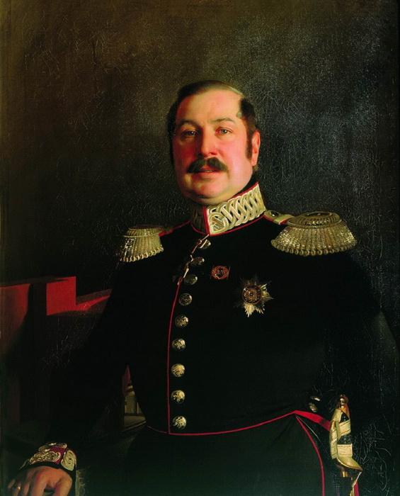 С. Зарянко. Портрет генерала П.К. Ломновского