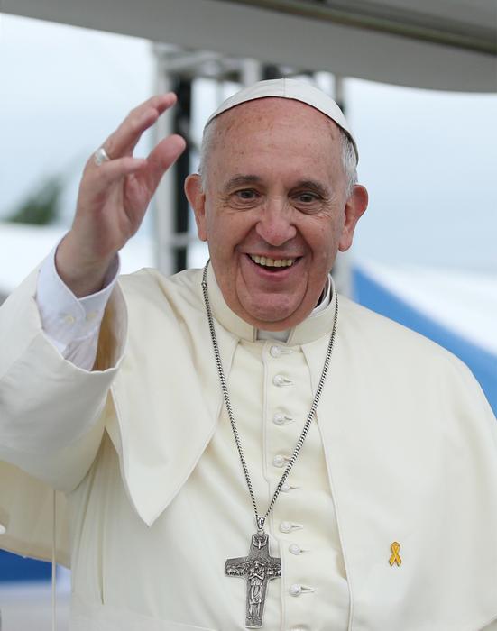 Хорхе Марио Бергольо, ставший папой Франциском