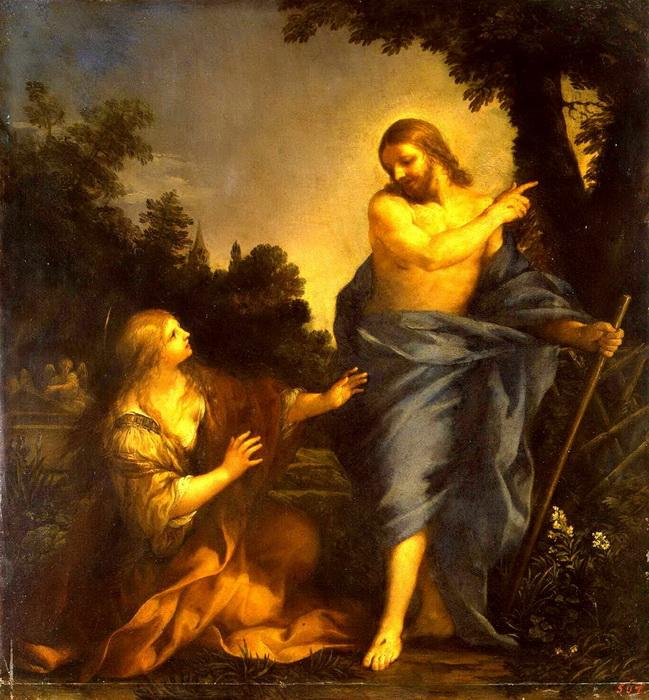 П. да Кортона. Явление Христа Марии Магдалине