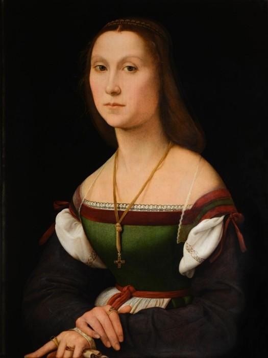Рафаэль. Женский портрет («Немая»)