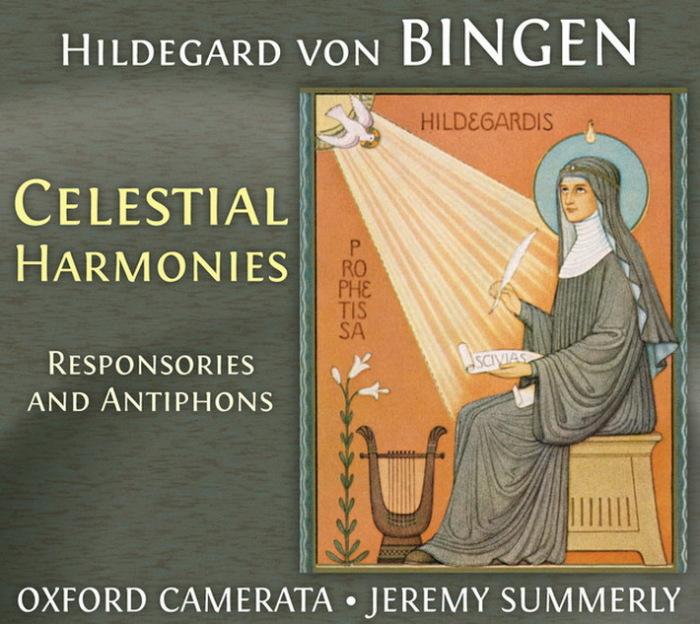 Один из дисков с записью музыки Хильдегарды