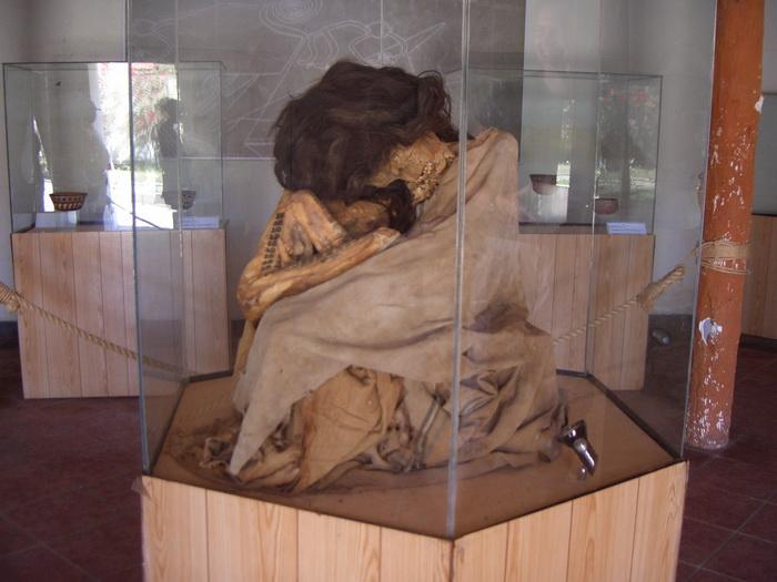 Американские индейцы хоронили умерших в сидячем положении