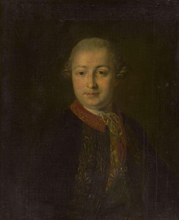 Ф.С. Рокотов. Портрет И.И. Шувалова