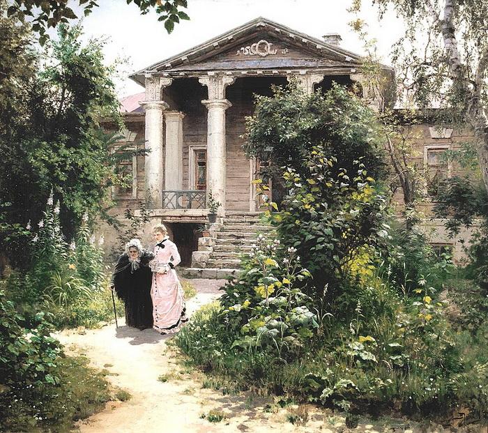 В. Поленов. Бабушкин сад