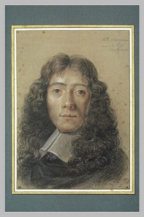 Ж.-Б. де Шампень. Автопортрет