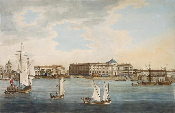 Живущие в Петербурге дворяне были вынуждены пользоваться яхтами - таково было повеление императора