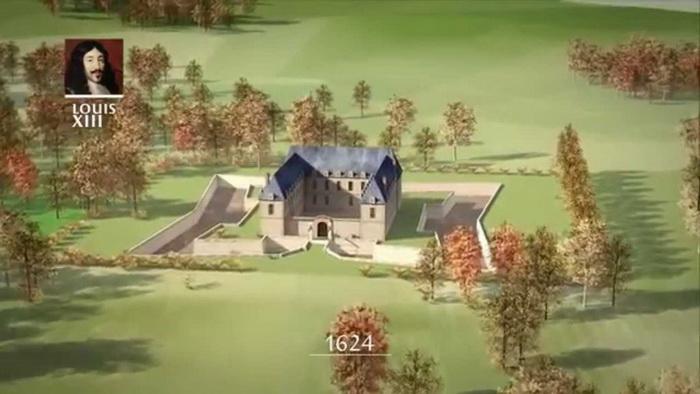 Примерно так выглядел охотничий дом на месте будущего дворца. С сайта visitefrance.ru