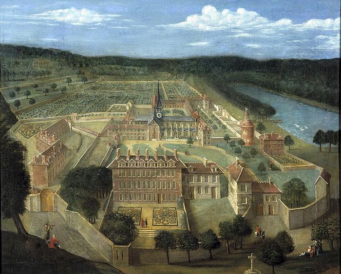 Монастырь Пор-Рояль в 1674 году