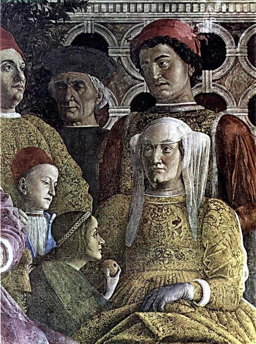 Фрагмент фрески Камеры-дельи-Спози