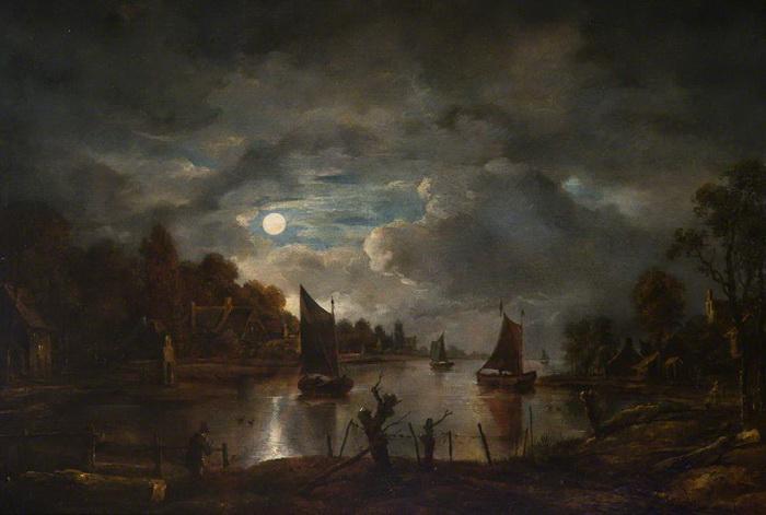 Арт ван дер Нер писал преимущественно ночные пейзажи