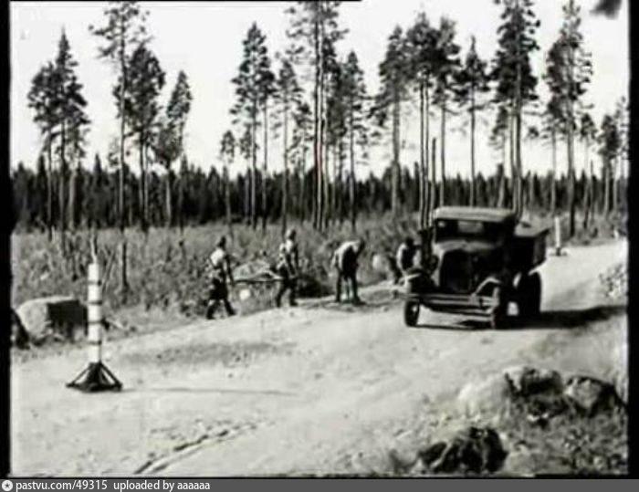 До начала строительства МКАД во время войны была спешно построена рокада