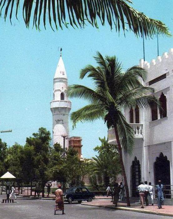 Могадишо в период сотрудничества с СССР